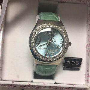 Vintage Baby Phat Sherbet Green Clamp Watch